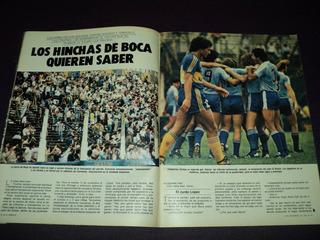 Boca 0 - Temperley 3 / El Grafico / 1983