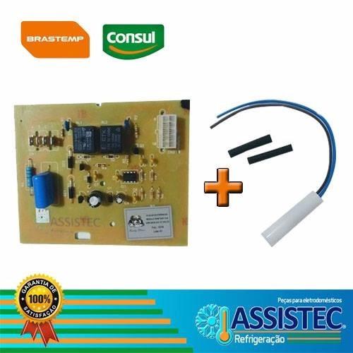 Modulo Placa Geladeira Brm41ab/35ab 127v + Sensor 2,7k