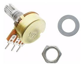 Potenciômetro 1k Linear Estriado 20 Mm Wh148 B5k L20 Arduino