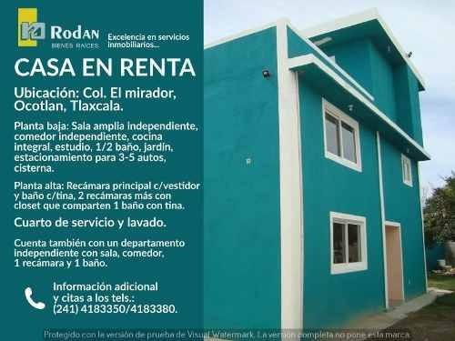 Casa Sola En Renta Ocotlan