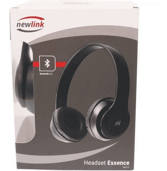 Fone Headset Bluetooth Essence Hs117 Newlink
