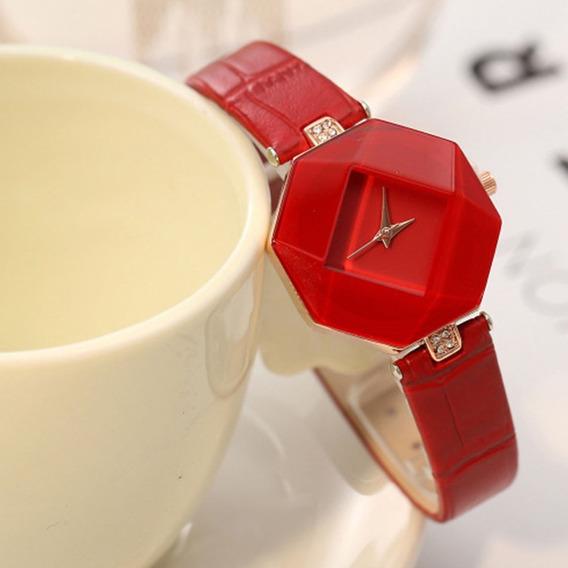 Relógio De Pulso De Luxo Menina Criança Adolescente 155