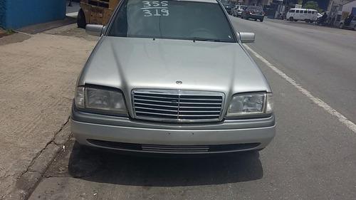 Sucata Mercedes C280 6cc 94-95-96 Ha28w Só Peças Capo Motor