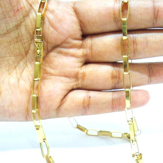 Cordão Corrente Ouro 18kl 750 Maciço 20 Gramas
