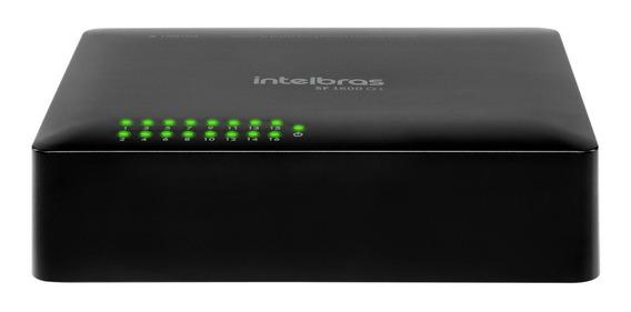 Switch 16 Portas Fast Ethernet - Sf 1600 Q