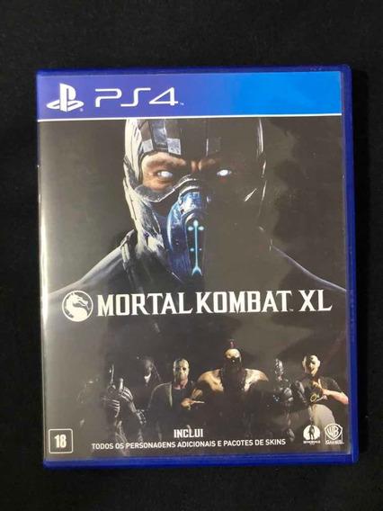 Mortal Kombat Xl Ps4 Jogo Mídia Física Português