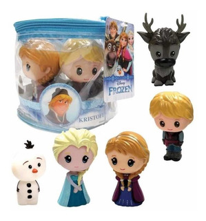 Frozen Set X5 Figuras Tipo Funko Pop Tapimovil