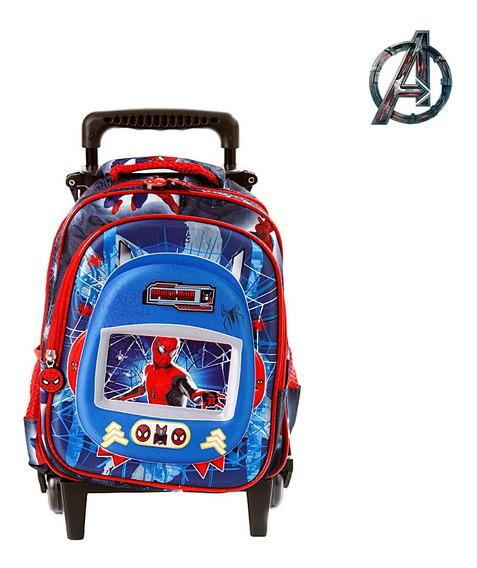 Mochila Pequena Escolar Spider Man Infantil Homem Aranha