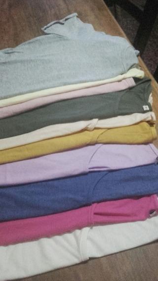 Remeras De Damas De Calidad,todos Los Colores Y Talles 1al 8