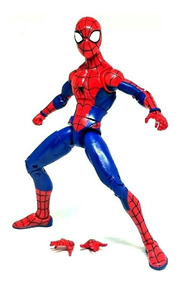 Boneco Action Figure Homem Aranha Animated Marvel Zd Toys