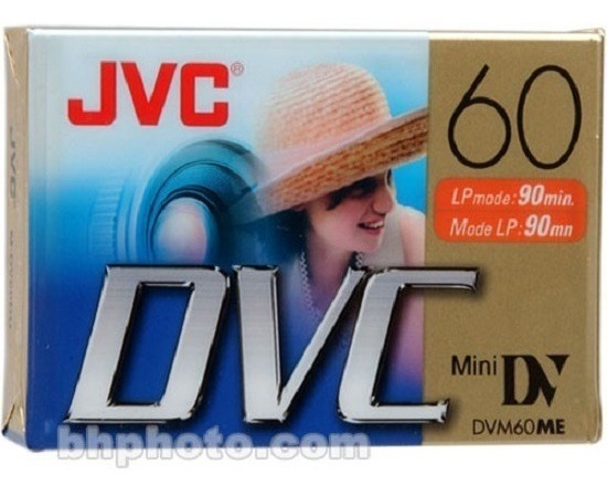 Cassette Minidv Jvc / Dvc 60 Minutos Nuevo