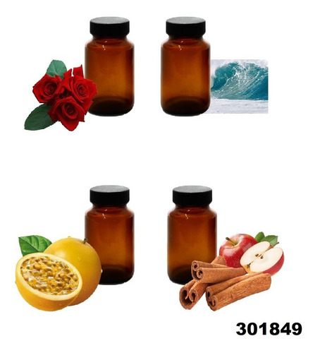 8x Esencias Humidificador Difusuras Hidrosoluble W11
