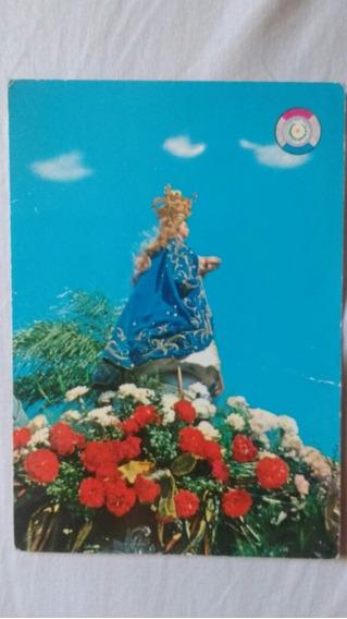 Tarjeta Postal De La Virgen De Caacupé Paraguay