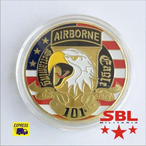 Moeda 101th Airborne Division Comemorativa