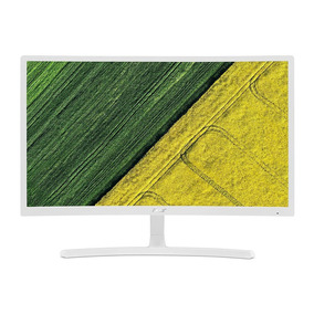 Monitor Gamer Curvo Acer Ed242qr 23,6 75hz Full Hd Vga Hdmi