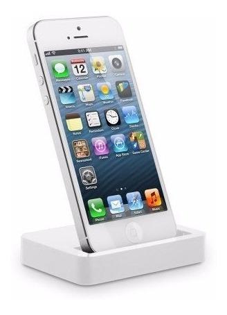 Dock Station iPhone 5 / 5s / 5c, 6, Sincroniza Branco