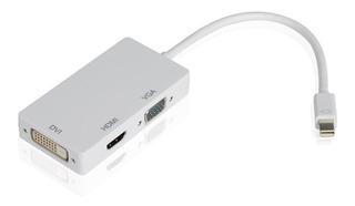 Adaptador Convertidor Mini Display Port A Hdmi Vga Dvi 24+5