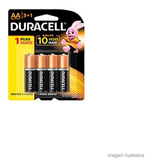 Pilha Alcalina Pequena Com 4 Unidades Código 9235 Duracell Duracell