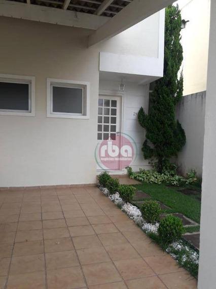 Casa Com 3 Dormitórios Para Alugar, 150 M² Por R$ 3.300/mês - Parque Campolim - Sorocaba/sp - Ca1866