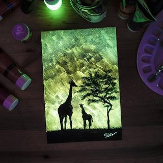 10 Gr Pigmento Foto-luminiscente Amarillo-verde Polvo Gge
