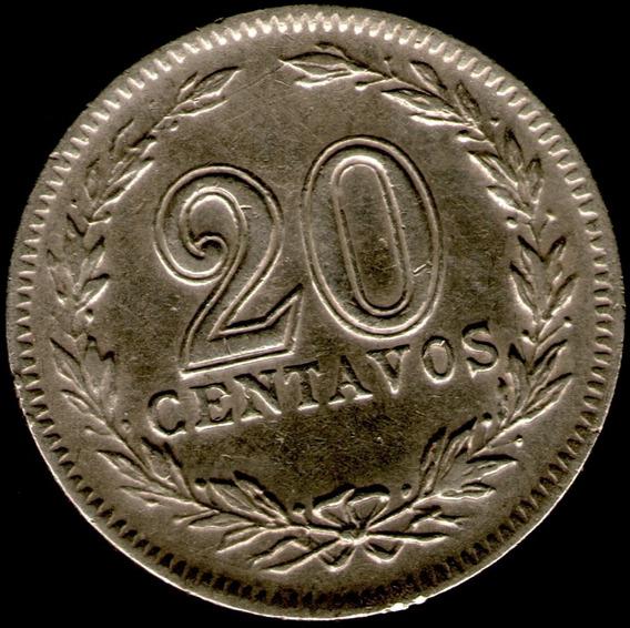 Spg Argentina 20 Centavos 1928
