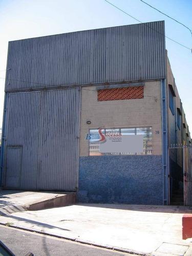 Galpão Para Alugar, 480 M² Por R$ 8.000,00/mês - Vila Prudente - São Paulo/sp - Ga0190