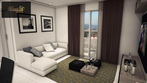Imagem 1 de 14 de Apartamento Com 2 Dorms, Aviação, Praia Grande - R$ 390.000,00, 85,49m² - Codigo: 234 - V234