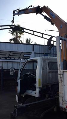Arriendo Camion Pluma Pequeño Con Grua Pluma Santiago