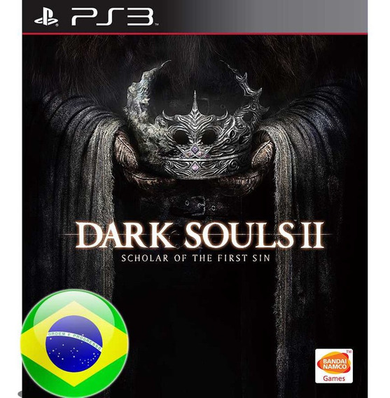 Dark Souls Ii 2 Scholar Of The First Sin Ps3 Psn Português