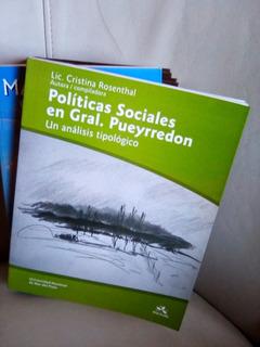 Rosenthal . Políticas Sociales En Gral Pueyrredon