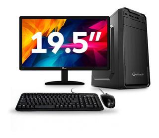 Computadora Cpu Pc De Escritorio Dual Core 8gb 500gb 19.5