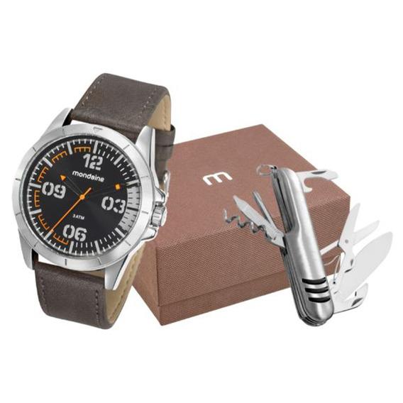Kit Relógio Mondaine Masculino 76702g0mvnh3k1