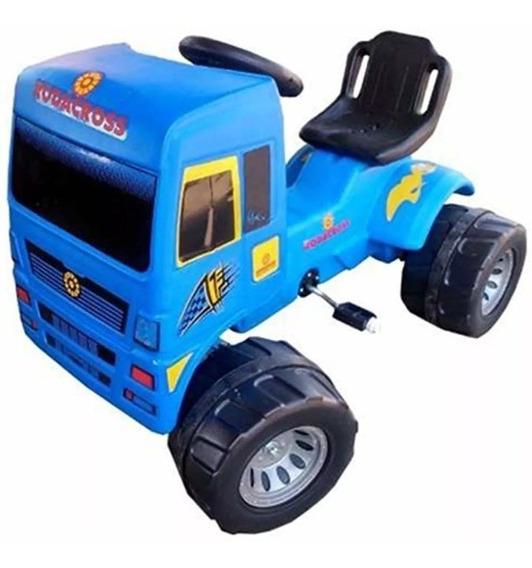 Camion A Pedal Cadena Super Truck Rodacross 2 A 7 Años