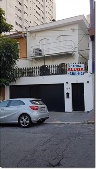 Sobrado Para Aluguel, 3 Quartos, 4 Vagas, Vila Mariana - São Paulo/sp - 7212