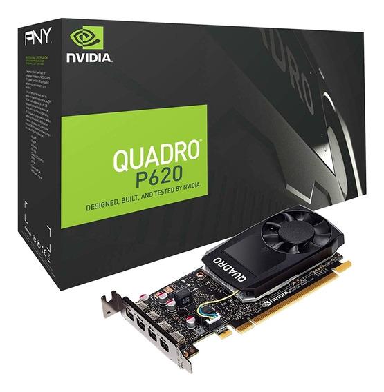 Placa De Vídeo Quadro P620 Nvidia Vcqp620-porpb 2gb Ddr5