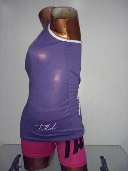 Musculosa Mujer Gym Tallado
