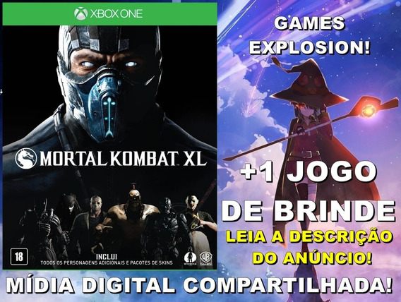 Mortal Kombat Xl Xbox One +1 Jogo - Mídia Digital