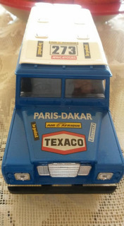 Miniatura Land Rover Burago 1/24 Paris - Dakkar Anos 1970