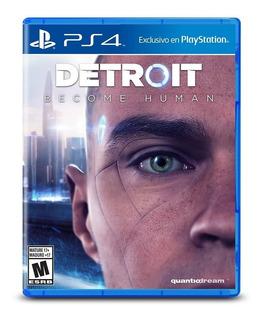 Detroit Become Human Playstation 4 Ps4 Nuevo Sellado