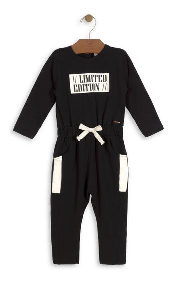 Macacão Suede Cotton Bebê Up Baby