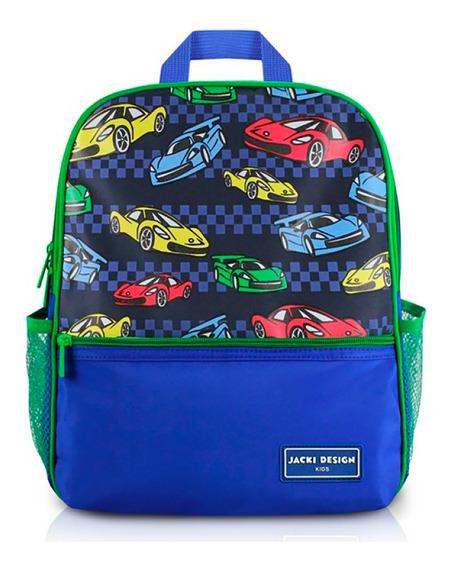 Mochila Escolar Infantil Carros Sapeka Jack Design Ahl17517