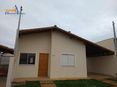 Casa Residencial Para Venda E Locação, Condomínio Residencial Villa Lobos, Anápolis. - Ca1099