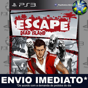 Escape Dead Island Ps3 Midia Digital Psn Envio Imediato