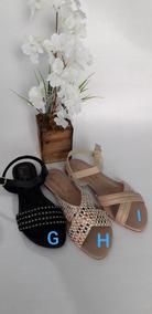 Sandália Kit Com 3 Pares, Numeração Especial Frete Grátis