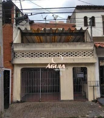 Imagem 1 de 6 de Sobrado À Venda, 256 M² Por R$ 500.000,00 - Campestre - Santo André/sp - So1496