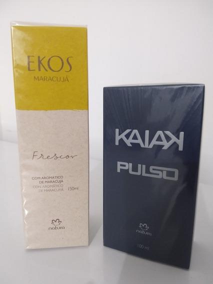 Kaiak Pulso + Frescor Ekos Maracujá