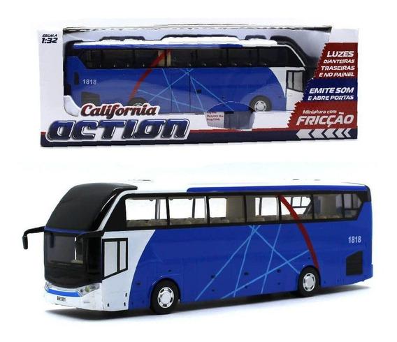 Ônibus Turismo Som E Luz - California Action - 1/32