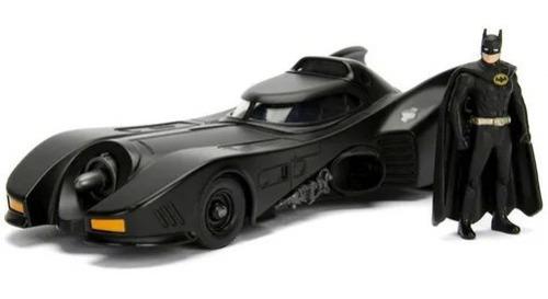 Imagem 1 de 1 de Veiculo Batmobile Com Figura 1989 1/24