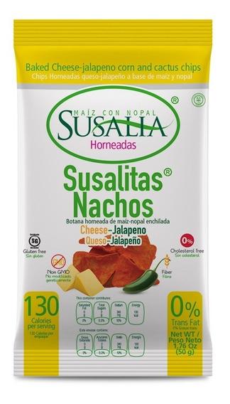 Susalitas Nacho 50g Caja 12 Pzs.