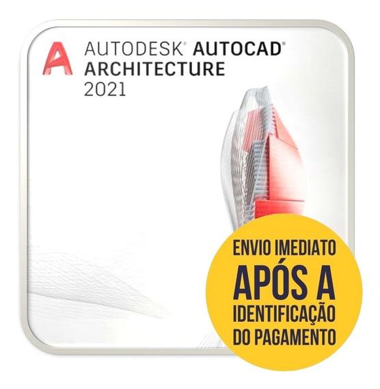 Auto Cad Archtecture 2021 Últma Versão & Fácil Instalação